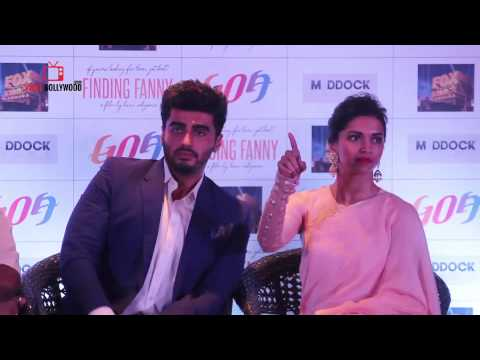 Finding Fanny Question Answer Session With Deepika Padukone | Arjun Kapoor | Goa Tourism