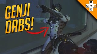 Overwatch Funny & Epic Moments 54 - GENJI DABS! - Highlights Montage