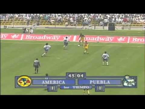 America vs Puebla 4tos Final vuelta 94-95 19May1995