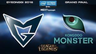 LoL - Samsung Galaxy vs. Kongdoo Monster [Game 1] - Grand Final - IEM Gyeonggi 2016