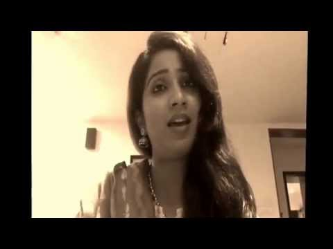Mere Mehboob Qayamat Hogi - Shreya Ghoshal Singing at home