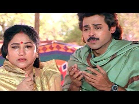 Sarada Bullodu Scene - Climax Scene - Venkatesh, Nagma video