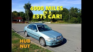 4000 miles in a £375 car! Rover 45 V6 winning machine