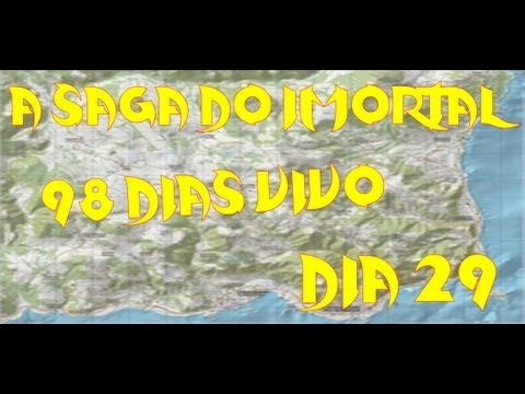 Dayz Mod:98 Dias Vivo A Saga Do Imortal 29 Dia Viajando Pelo Mapa Sem Medo
