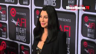 Cher arrives at Target presents 'AFI Night At The Movies' Red Carpet (24.04.2013)