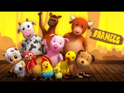 Nursery Rhymes Cartoons for Kids | Baby Songs by Farmees