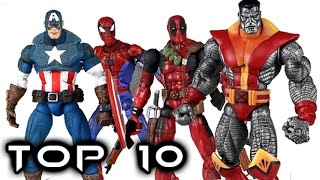 Top 10 Marvel Legends | Toy Biz