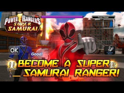 Power Rangers Super Samurai - X360 - Become a Super Samurai Ranger!