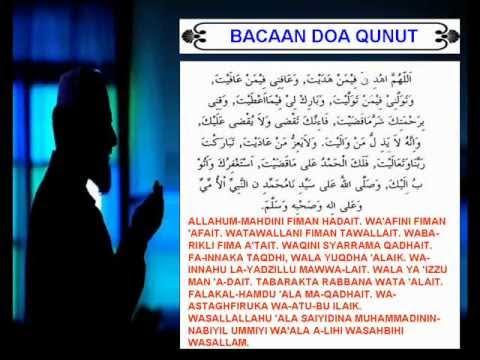 Doa Qunut Solat Subuh video