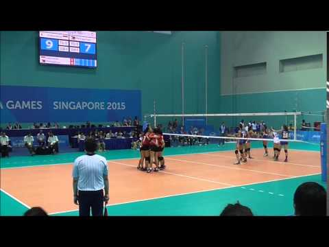 2015 SEA Game Volleyball Indoor Women Preliminary: Philippines vs Indonesia