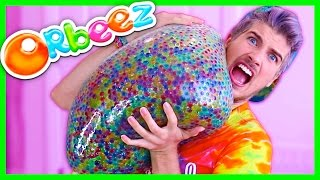 GIANT ORBEEZ STRESS BALL!