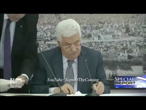 Psalm 83 : Pres Abbas signs the Rome Statute to join the International Criminal Court (Jan 01, 2015)