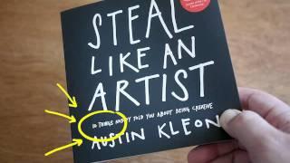 Steal Like An Artist Book Trailer