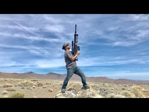 How long does it take for a 50cal bullet to fall back down?
