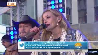 Tim McGraw & Faith Hill   |   The Rest Of Our Life (Live On Today Show, November 17, 2017)