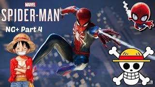 Marvel's Spider-Man Ps4 NG+ Part 4 ULTIMATE DIFFICULTY