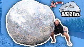 DIY GIANT GALLIUM BALL!! (10,000+ LBS WORLD RECORD)