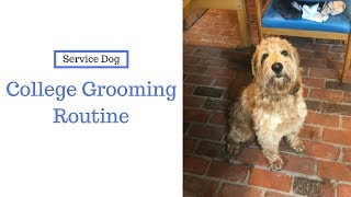 COLLEGE GROOMING ROUTINE