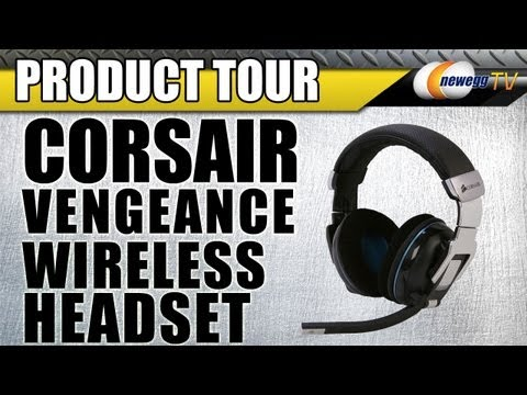 Newegg TV: Corsair Vengeance 2000 Wireless Gaming Headset Product Tour
