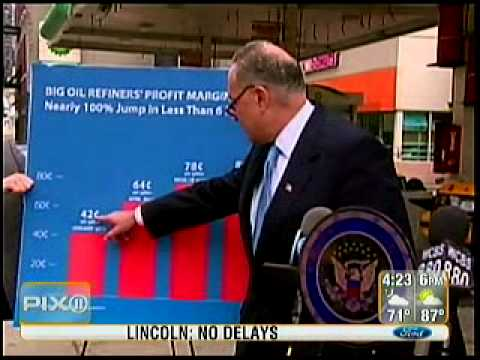 Gas price fixing investigation Charles schumer