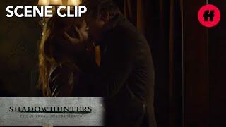 Shadowhunters | Season 2 Episode 17: Sebastian Kisses Clary | Freeform