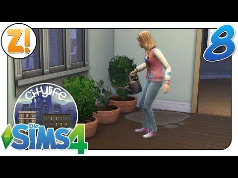 Sims 4 [Citylife Challenge]: Die erste Ernte #8   Let's Play [DEUTSCH]