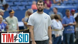 Were Colts Fans Justified In Booing Andrew Luck? | Tim and Sid