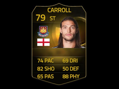 FIFA 15 IF CARROLL 79 Player Review & In Game Stats Ultimate Team