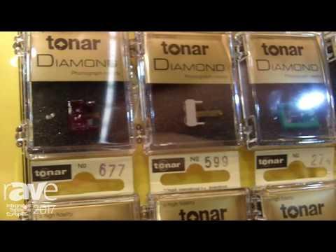 ISE 2017: Tonar International Displays Record Player Steel and Diamond Needles