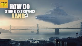 How Does a Star Destroyer FLY in Atmosphere?