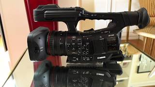 01. Canon XF 705: Basic Functions Tutorial