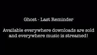 Ghost - Drink A Little