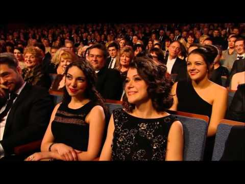 Canadian Screen Awards 2014: Anna Silk/Zoie Palmer & Tatiana Maslany/Evelyne Brochu