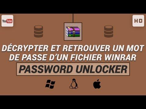 Comment décrypter et retrouver un mot de passe d'un fichier WinRAR thumbnail