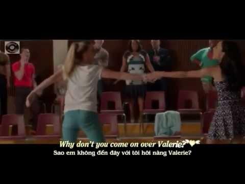 [lyrics+vietsub] Glee - Valerie From 100 video