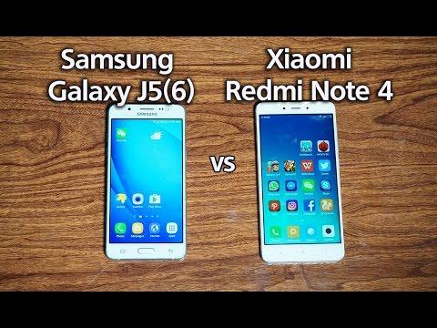 Xiaomi Redmi Note 4 vs Samsung Galaxy j5 2016 Camera Test (English Subtitle)