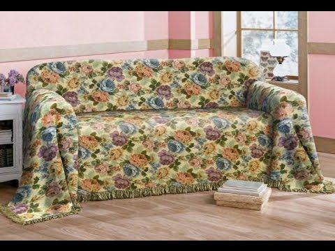 Покрывала на диван своими руками мастер класс