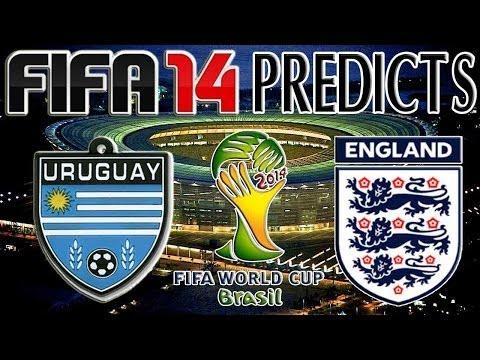 2014 FIFA World Cup Brazil | Uruguay vs England | FIFA 14 PREDICTS (PS4)