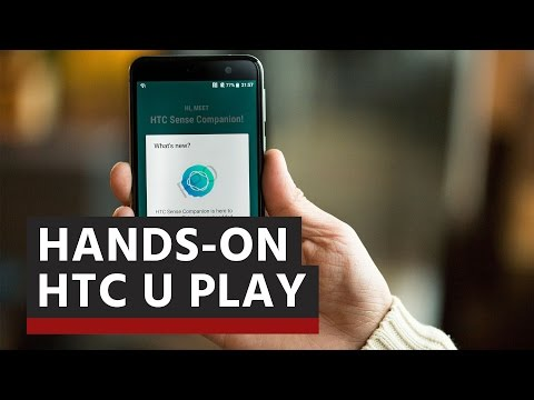 HTC U Play – Hands-on