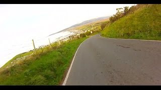 Fast downhill downhill on Trek FX 7.2 disc bike - no brakes !