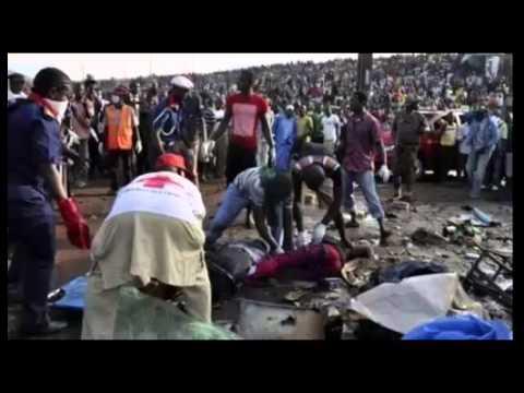 56 dead in Nigeria market blast,