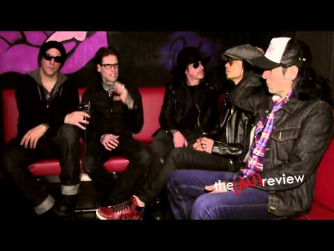 Buckcherry (LA) - Australian Interview - Stone Music Festival 2013.