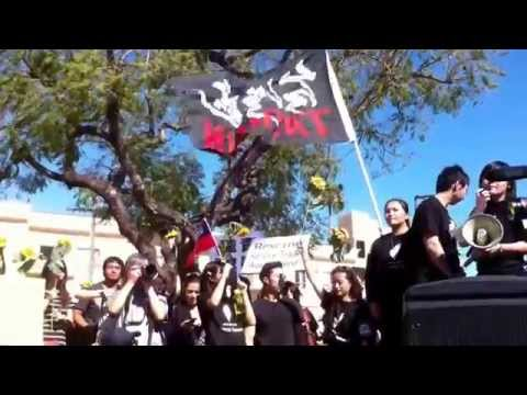Vlog#7: Protecting Taiwan's Democracy Student Protest Oversea Support in Los Angeles
