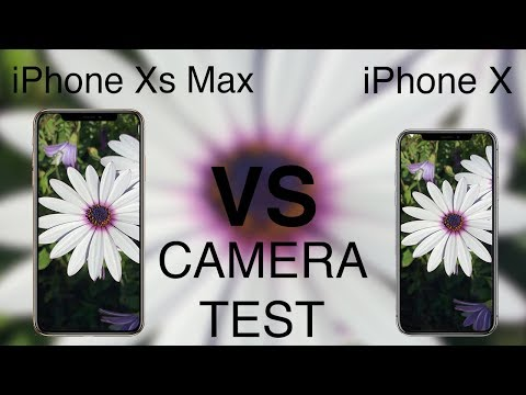 iPhone Xs vs iPhone X CAMERA TEST!
