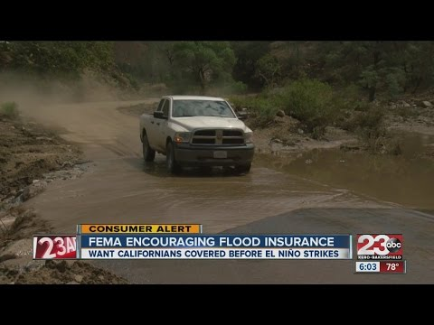 FEMA encouraging all Californians to invest flood insurance