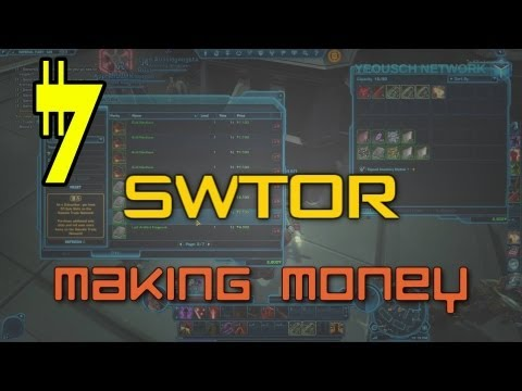 How to Make Money in SWTOR for Beginners (2013)