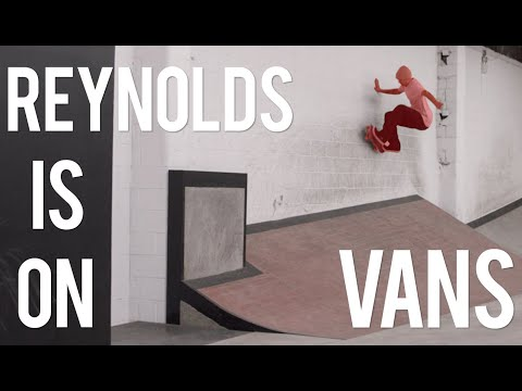 Andrew Reynolds Is Pro For Vans