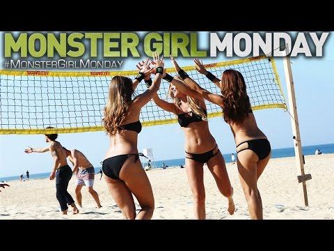 Monster Girls vs. Skaters Volleyball Showdown