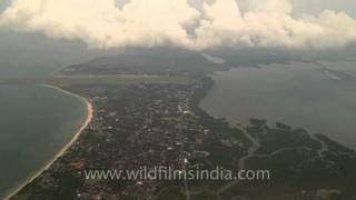 Aerial view of Timor