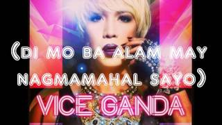Manhid ka - Vice Ganda (with lyrics)